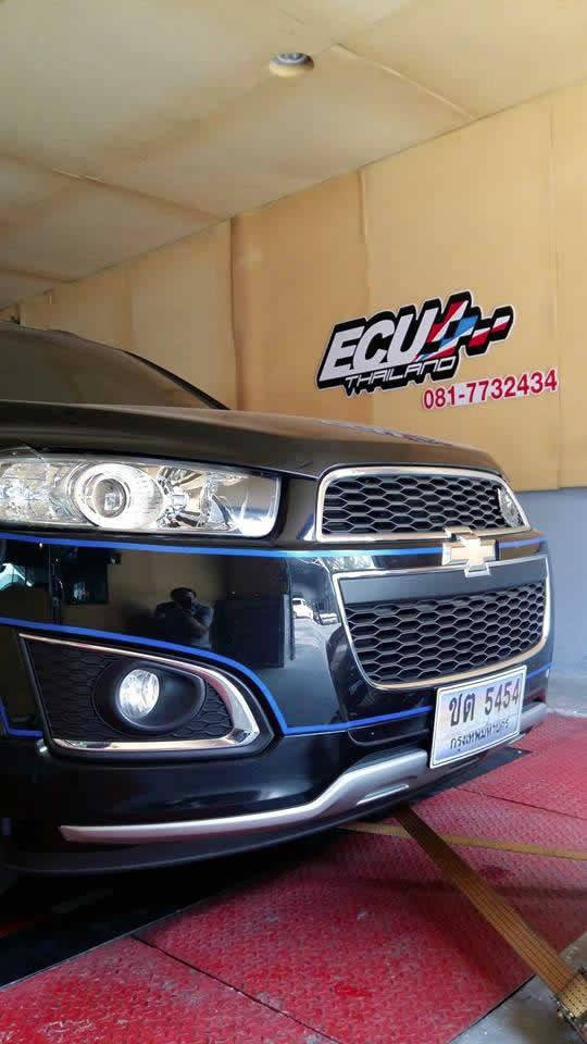 Chevrolet Captiva 2014 Ecu Remapping Results