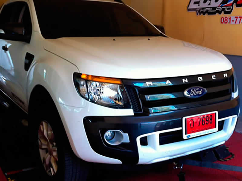 Ford Ranger 3.2 on RPT dyno