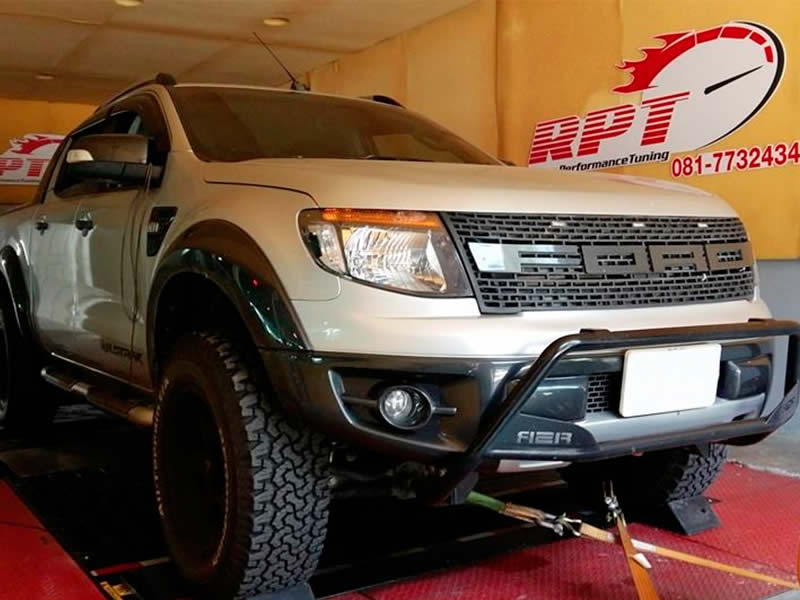 Ford Ranger 3.2 on RPT dyno in Bangkok Thailand