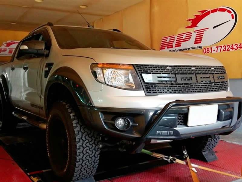Ford Ranger 3.2 on RPT dyno in Bangkok Thailand