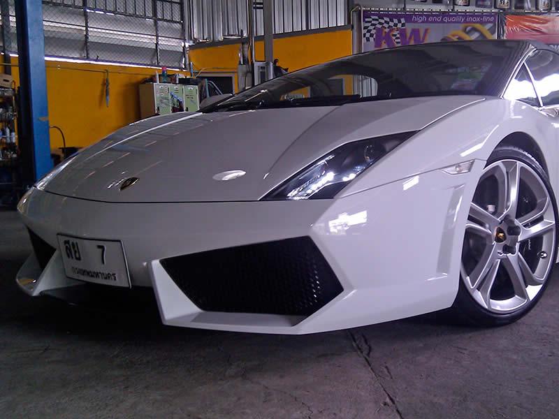 Lamborghini Spider at RPT Bangkok Thailand