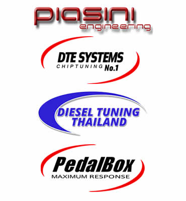 Logo's of our tuning partners and associates