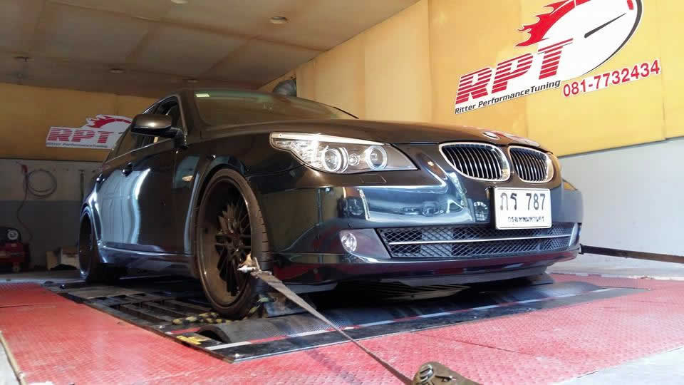 BMW 520D E60 ECU Remapping Results