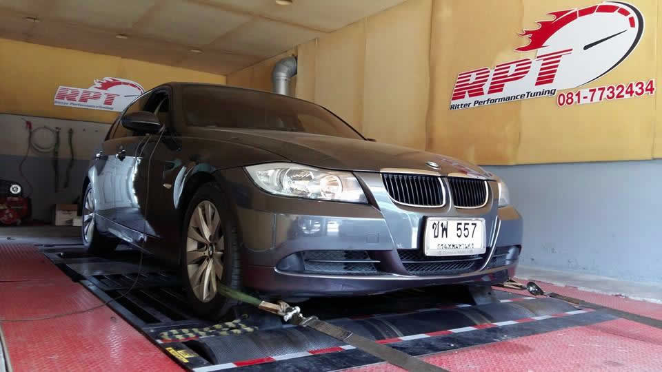 BMW 320i 2006 ECU Remapping Results
