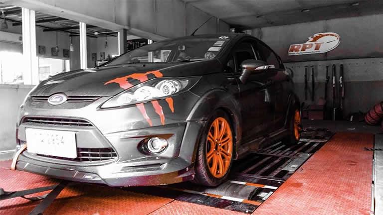 Ford Fiesta 1.4L 2010 at RPT Thailand