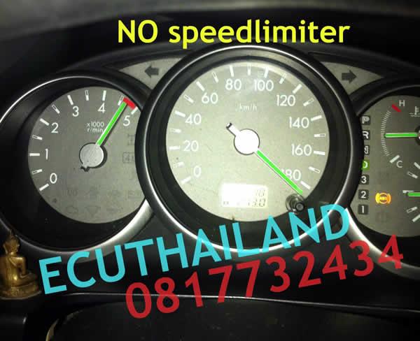 Ford Ranger 2007 speedlimiter removed