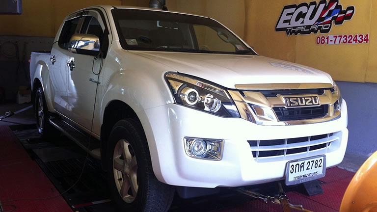 Isuzu D MAX 2.5L 2012 at Ritter Performance Tuning Thailand