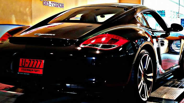 Porsche Cayman at Ritter Performance Tuning Thailand