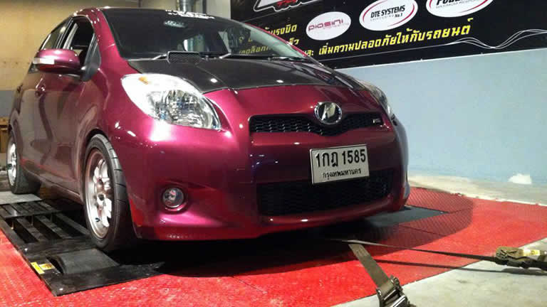 Toyota Yaris at Ritter Performance Tuning Thailand
