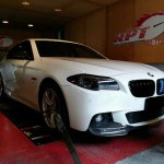 2015 BMW 528i F10 undergoing ecu remapping at RPT Thailand