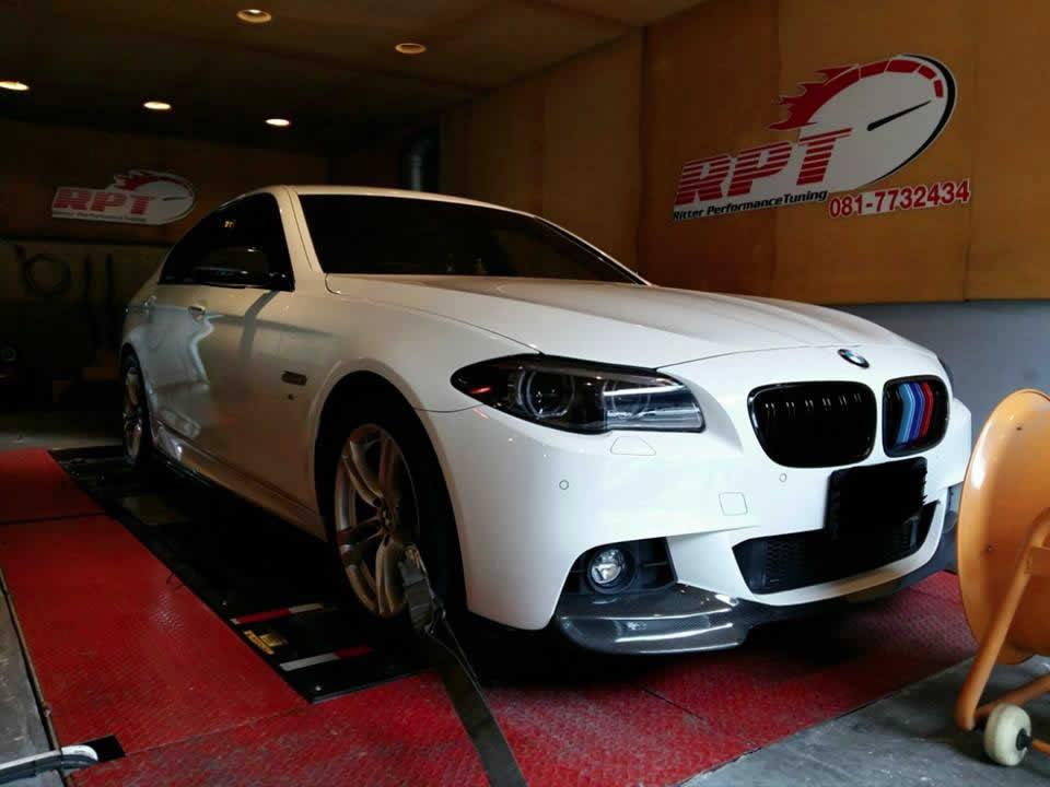 BMW 528i F10 2015 ECU Remapping Results