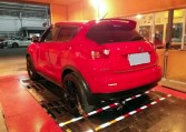 2015 Nissan Juke 1.6L on dyno for ECU remapping