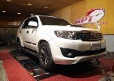 Toyota Fortuner 3L 2012 ECU remapping at RPT Thailand