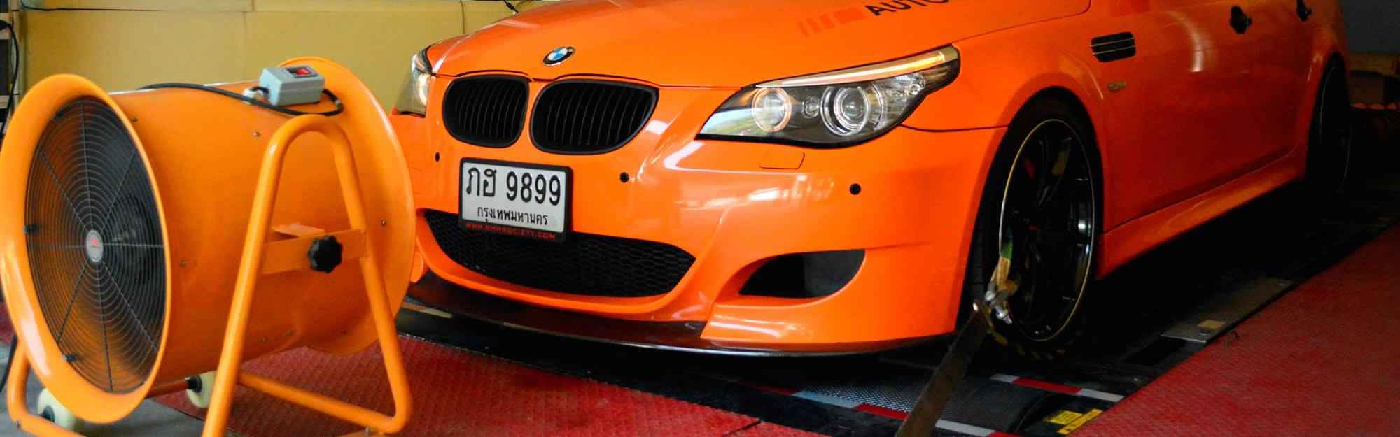 Chip Tuning on BMW at ECU Thailand Bangkok
