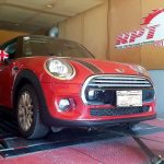 2015 Mini Cooper D On Dyno During ECU remap by RPT Ritter Performance Tuning