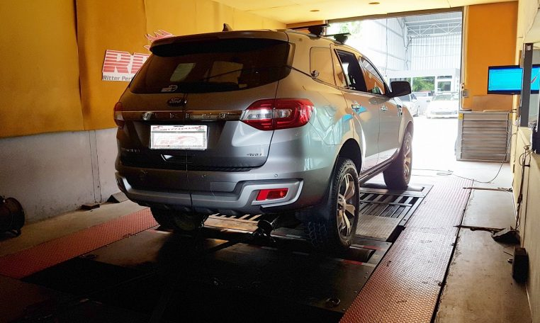 2016 Ford Everest ECU Remapping at at RPT ECU Thailand
