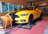 Mustang 2.3L ecoboost during remapping at RPT Tuning Bangkok Thailand